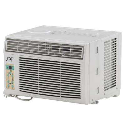 6,000 BTU 115V Window Air Conditioner with Remote Control