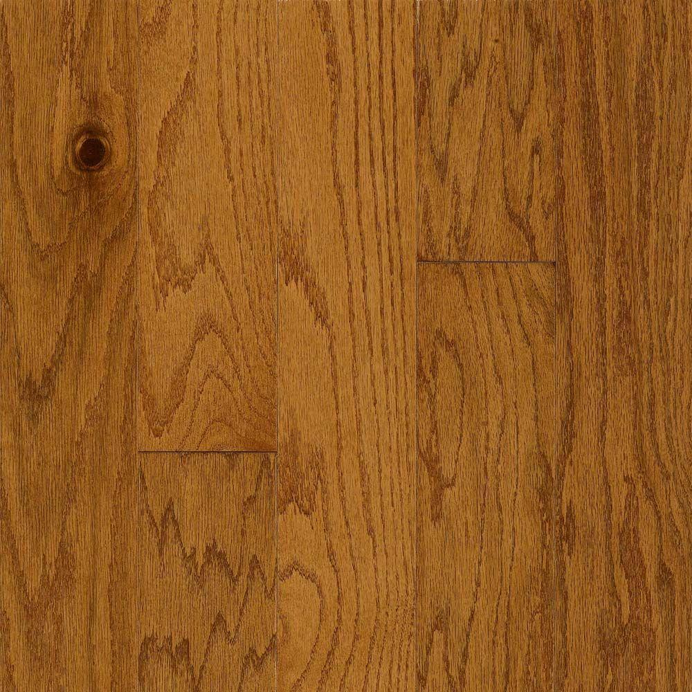 Bruce Westminster Gunstock Oak Engineered Hardwood Flooring - 5 in. x 7 in. Take Home Sample