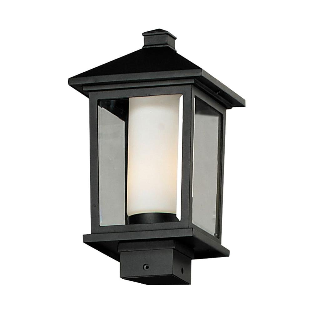 Filament Design Lawrence 1-Light Outdoor Black Incandescent Post Light
