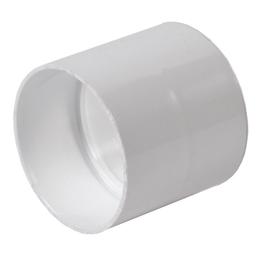 NDS 3 in. PVC Sewer/Drain Hub Coupling