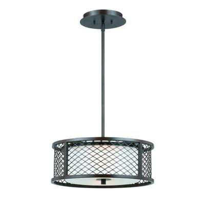 Kalidad 3-Light Bronze Pendant