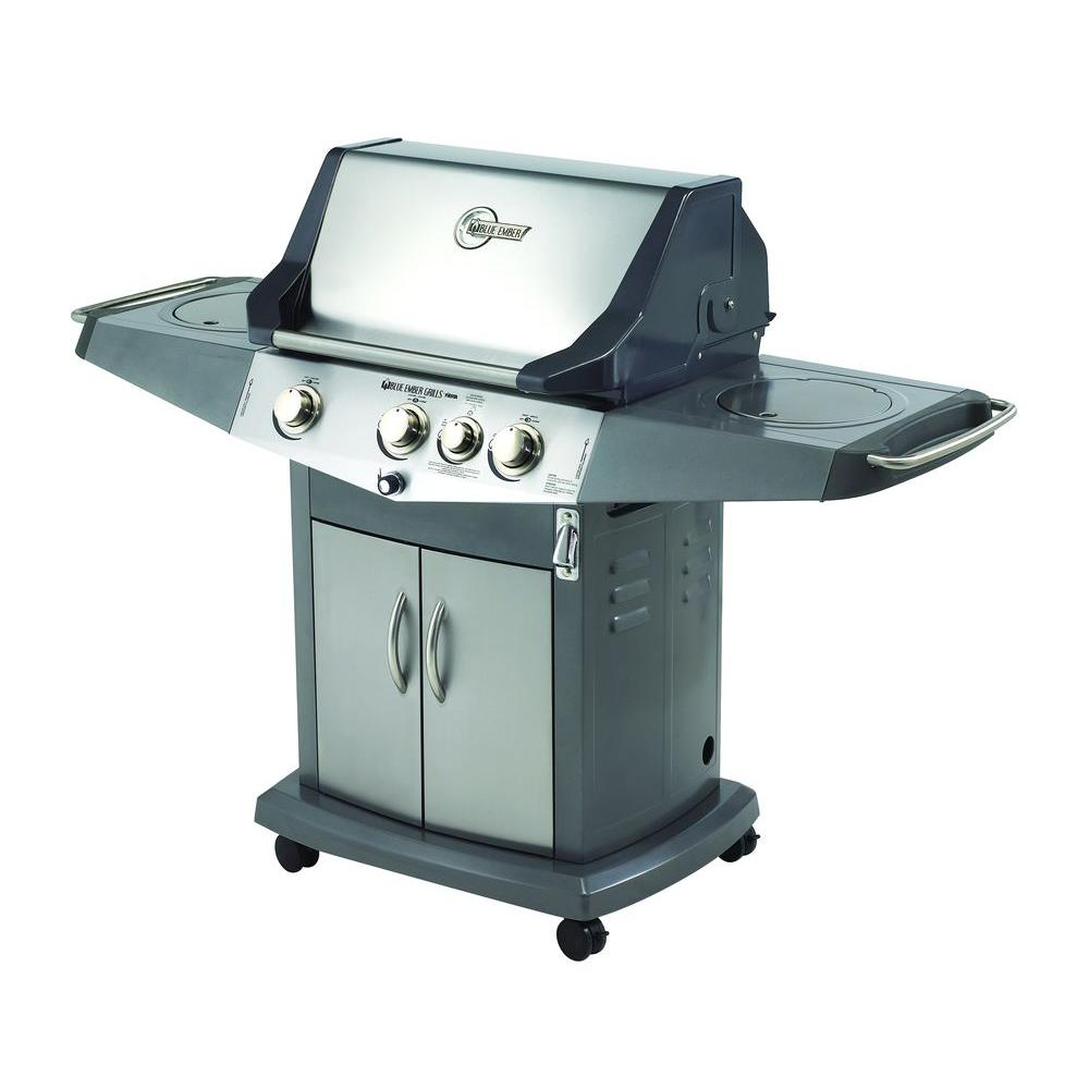 Blue Ember Classic 3 Burner Natural Gas Grill with Side Burner-DISCONTINUED