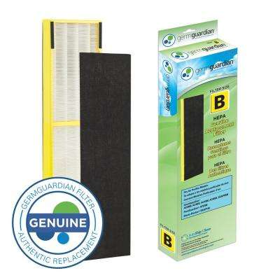True HEPA GENUINE Replacement Filter B for AC4300/AC4800/4900 Series Air Purifiers