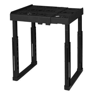 12 in. W x 14 in. H x 10 in. D Adjustable Locker Shelf in Black