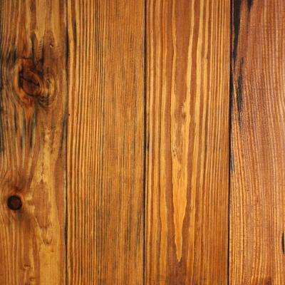 Hand Scraped Honey Dew Pine 3/4 in. Thick x 5-1/8 in. Wide x Random Length Solid Hardwood Flooring (23.3 sq. ft. / case)