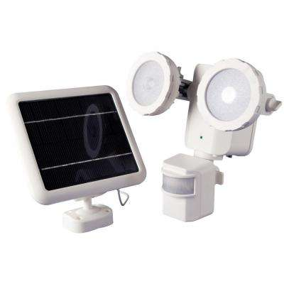 600 Lumen 160 Degree Outdoor Motion Activated Solar Powered White LED Security Light