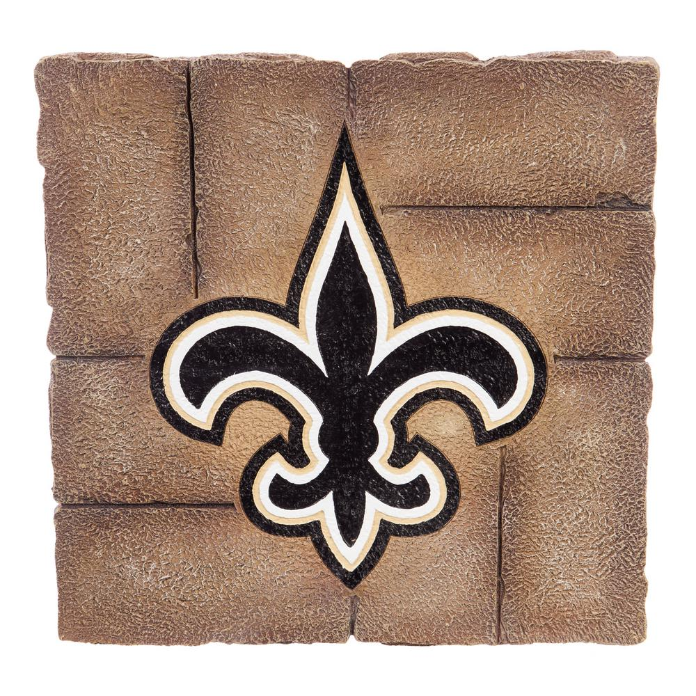 Team Sports America New Orleans Saints 12 In X 12 In