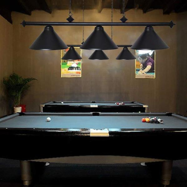 Casainc Black Pool Table Lights For 8 9