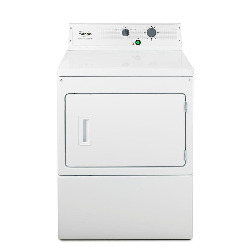 Whirlpool Heavy-Duty Series 7.4 cu. ft. Commercial Electric Dryer in White