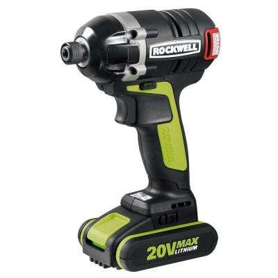 20-Volt Lithium-Ion Brushless Impact Driver
