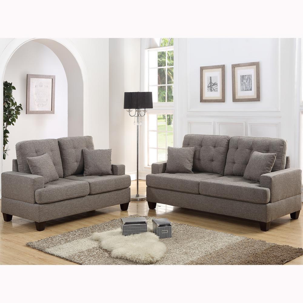 Basilicata 2-Piece Coffee Sofa Set