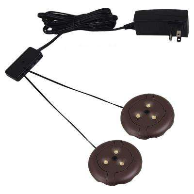 Ambiance LX LED Bronze Puck Light Kit