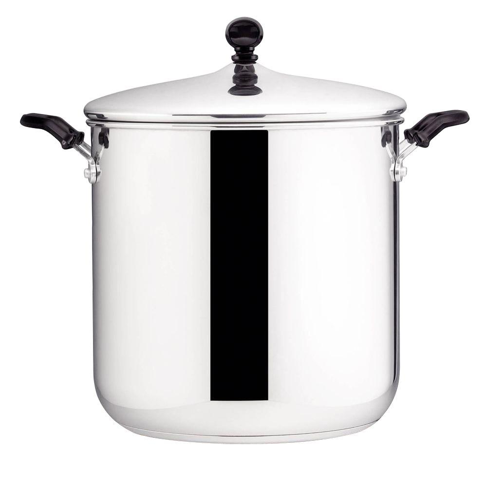 Farberware Classic Series 11 Qt. Stainless Steel Stock Pot with Lid