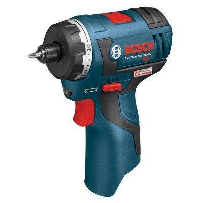 12 Volt Lithium-Ion Cordless Electric 1/4 in. Hex 2-Speed Pocket Driver (Tool-Only)