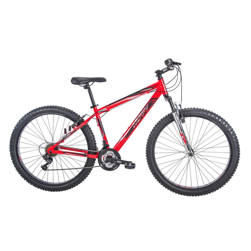 Huffy Fortress 27.5 in. Men's Aluminum Mountain Bike, Multi