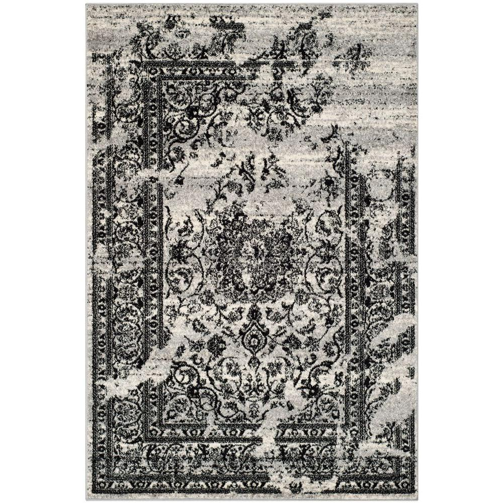 Safavieh Adirondack Silver Black 8 Ft X 10 Ft Area Rug Adr101a 8
