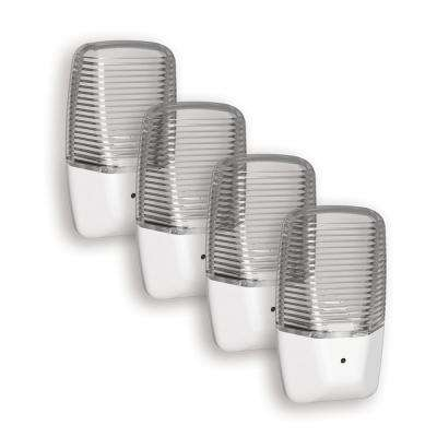Clear Aria Curve LED Night Light (4-Pack)