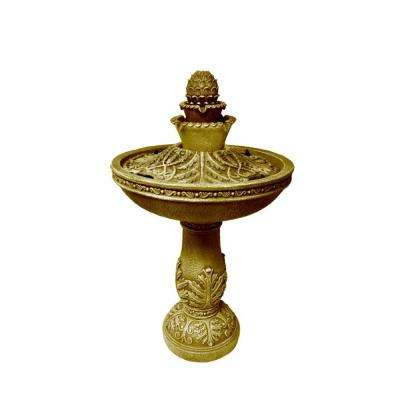 Classic Dancing Waters Cordless Fountain in Bronze
