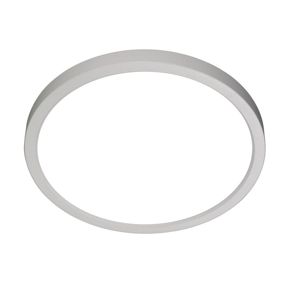 New 7 Round Led Flush Mount Ceiling Light 4000k Kitchen: NICOR DSE8 8 In. Round White LED Flush Mount Ceiling Light