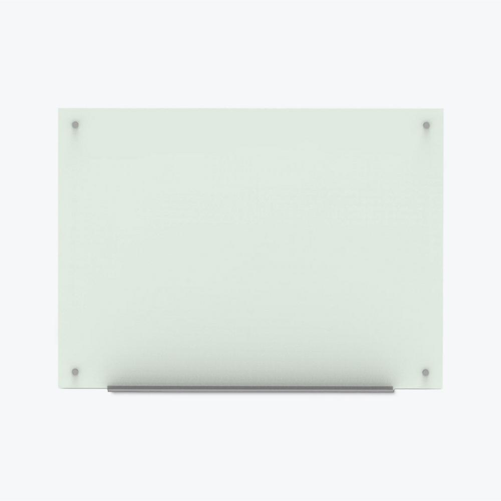 48 in. x 36 in. Magnetic Wall Mounted Glass Board