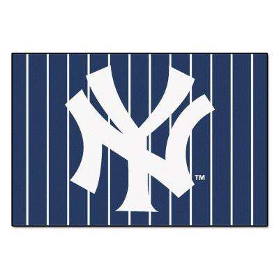 New York Yankees 5 ft. x 8 ft. Area Rug