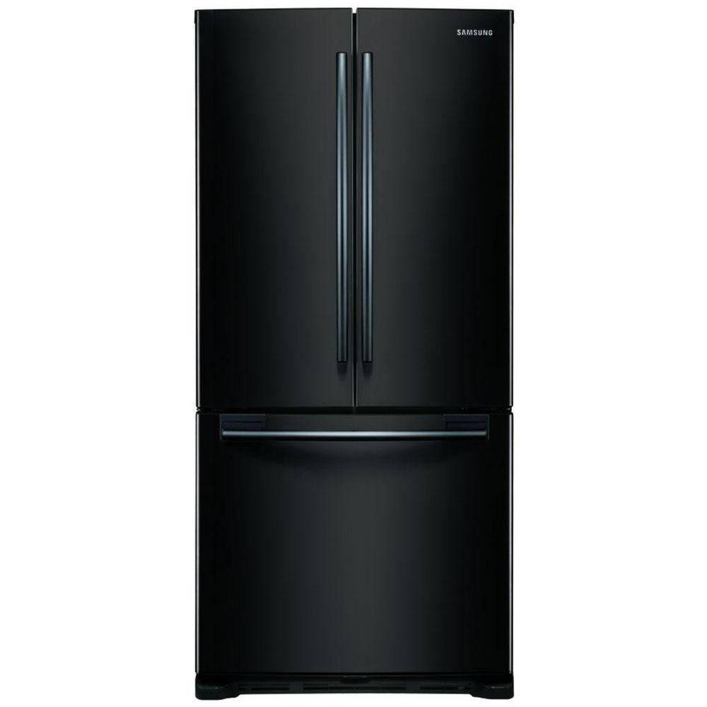 Samsung 19.72 cu. ft. French Door Refrigerator in Black