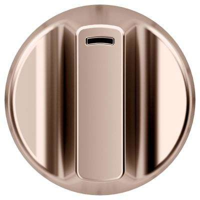 Electric Cooktop Knob Kit in Brushed Copper