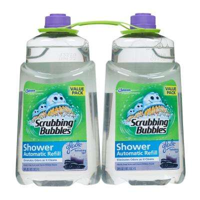34 oz. Automatic Shower Cleaner Refill with Refreshing Spa 2-Pack (Case of 3)