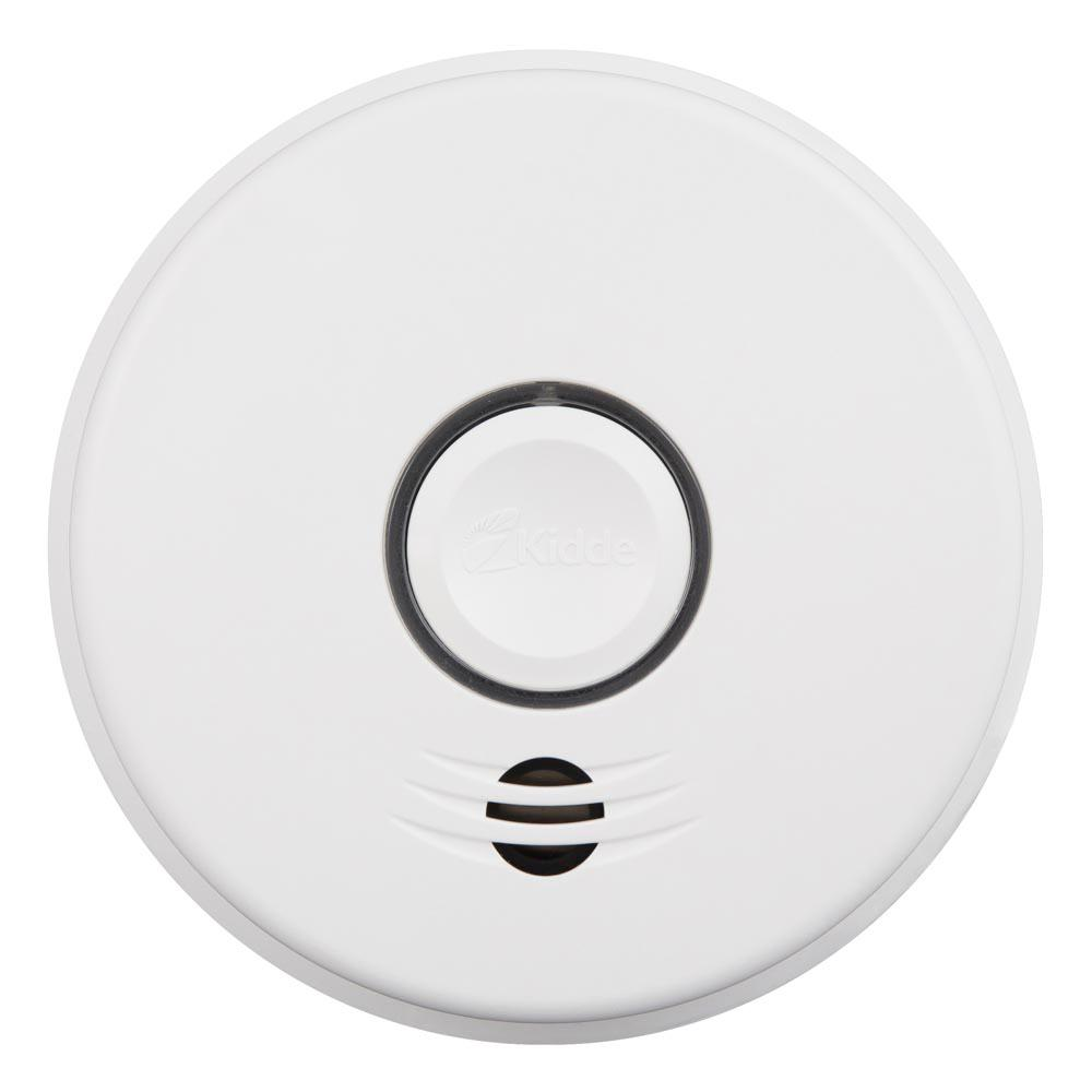 Kidde Hardwire Smoke Detector With 10 Year Battery Backup And 2wire Wiring Diagram Intelligent Wire Free Voice Interconnect 21028114 The Home Depot