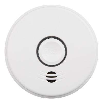 120-Volt Hardwired Voice Warning Smoke Alarm with Wire-Free Interconnect and 10-Year Lithium Battery Backup