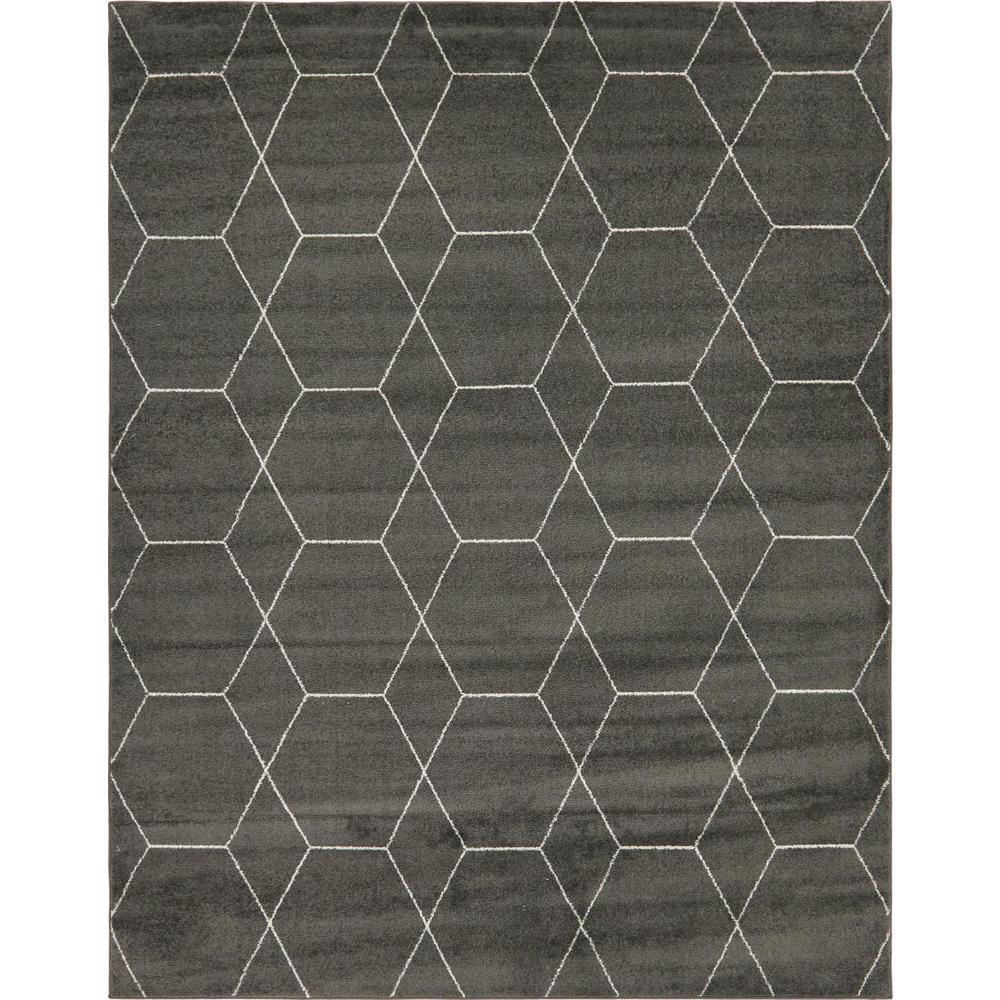 Stylewell Trellis Frieze Dark Gray