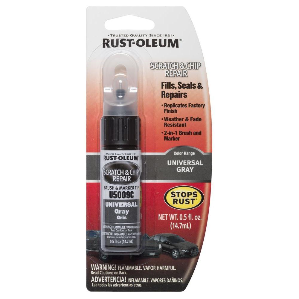 Rust-oleum automotive 0. 5 oz. Universal gray scratch & chip repair.