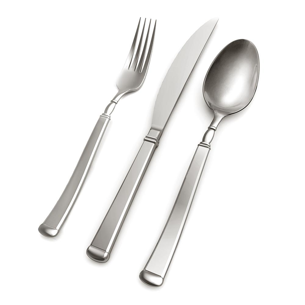 Hampton Forge Avenue 20-Piece 18/0 Flatware Set