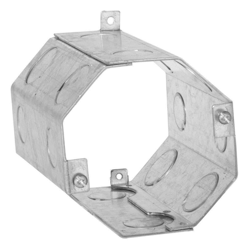 4 in. Octagon Welded Concrete Ring, 5 in. Deep with 1/2
