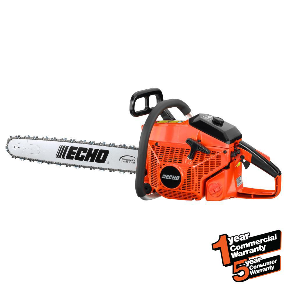Echo 24 in. 80.7cc Gas 2-Stroke Cycle Chainsaw