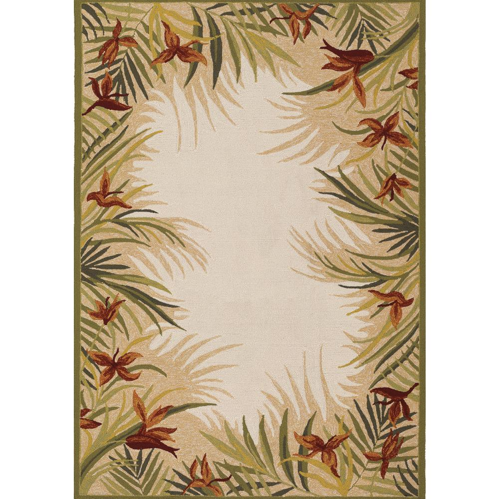 This Review Is From:Covington Tropic Gardens Sand Multi 6 Ft. X 8 Ft.  Indoor/Outdoor Area Rug