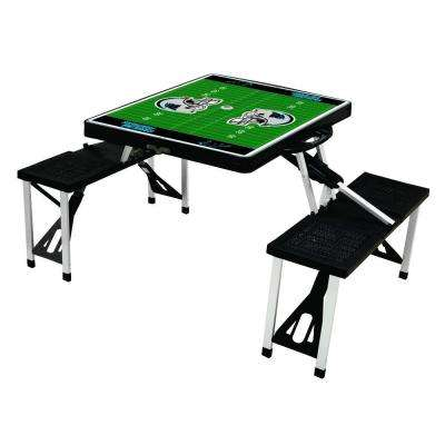 Carolina Panthers Sport Plastic Outdoor Patio Picnic Table