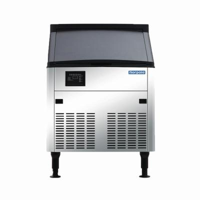 160 lbs. Freestanding Commercial Ice Maker in Stainless Steel