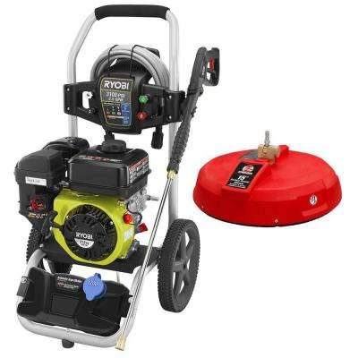 3,100-PSI 2.5-GPM 212cc Gas Pressure Washer with 15 in. Surface Cleaner
