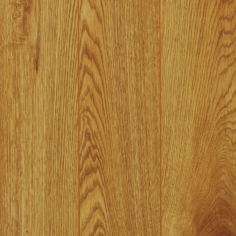 Home Decorators Collection Natural Oak 8 Mm Thick X 4 29/32 In. Wide X 47 5/8 In. Length Laminate Flooring (16.28 Sq. Ft. / Case), Light