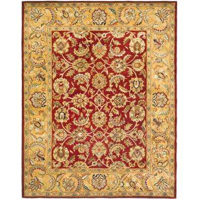 Classic Red/Gold 8 ft. x 10 ft. Area Rug