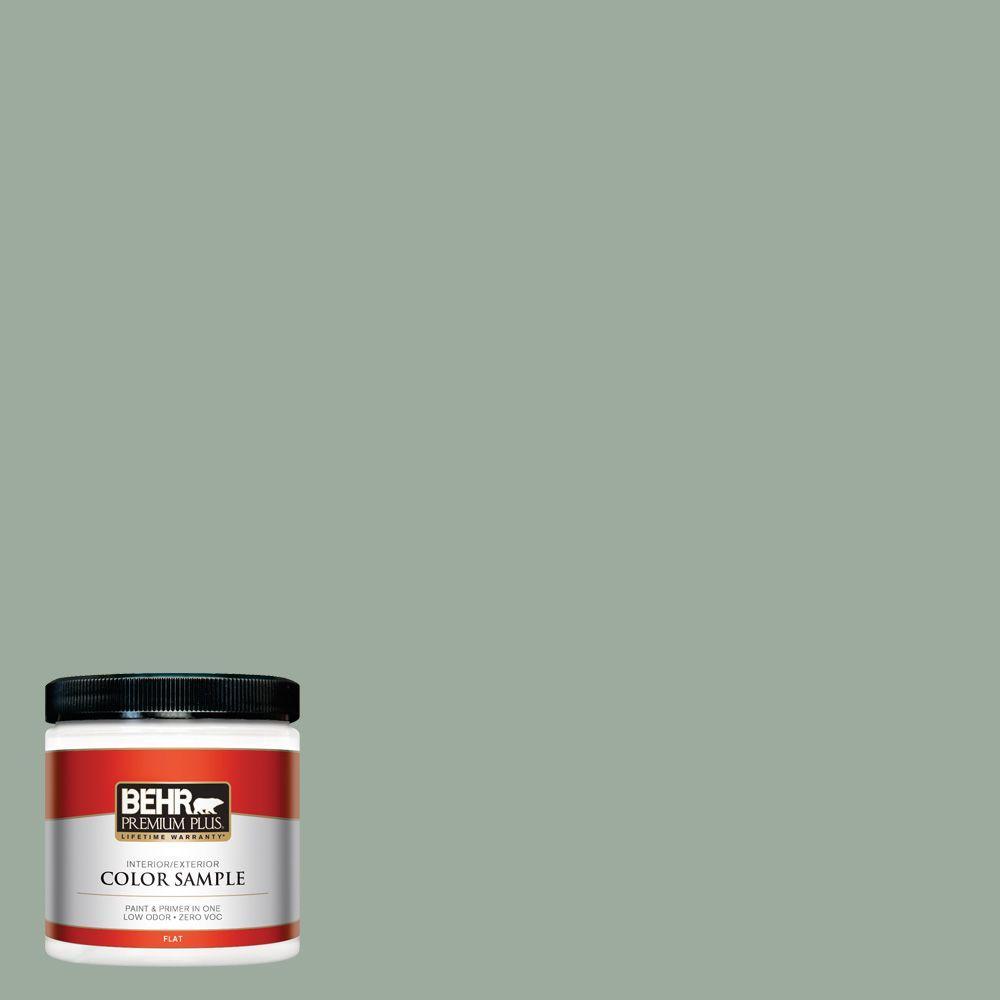 BEHR Premium Plus 8 oz. #450F-4 Scotland Road Interior/Exterior Paint Sample