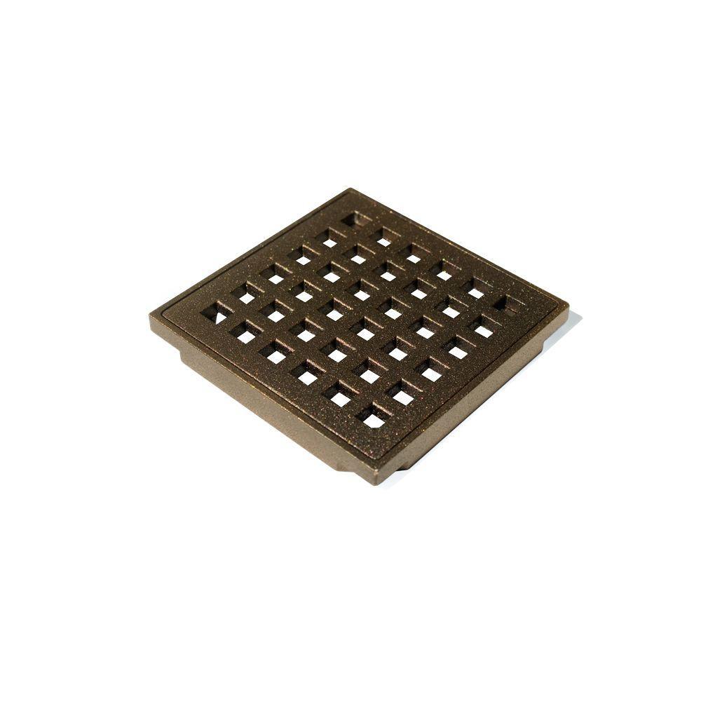 Oil Rubbed Bronze Shower Drain Cover.Wedi Fundo Oil Rubbed Bronze Cover Set
