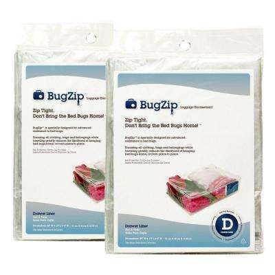 Bed Bug Resistant Drawer Lining and Clothing Encasement (2-Pack)