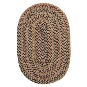 Home Decorators Collection Winchester Natural 9 ft. x 12 ft. Oval Braided Area Rug by Home Decorators Collection