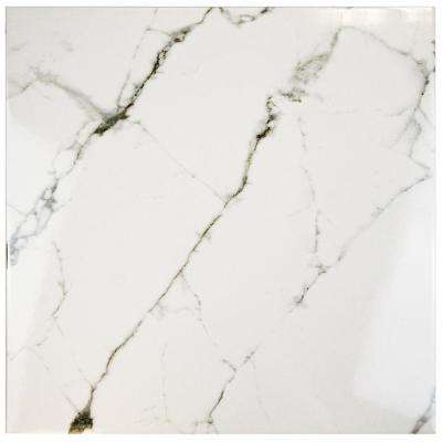 Clic Calacatta 18 In X Ceramic Floor And Wall Tile 11 25