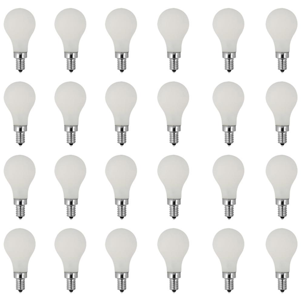 24 A15 Led Bulbs Light Bulbs The Home Depot