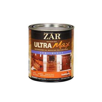 1 qt. Semi-Gloss Ultra Max Oil Modified Polyurethane (2-Pack)