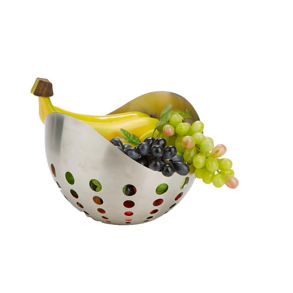 Mind Reader Stainless Steel Fruit and Vegetable Basket HOLEBASK-SIL