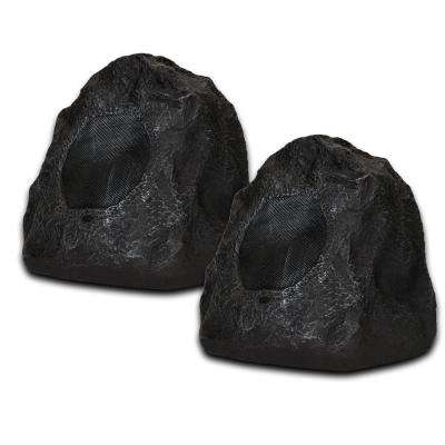 Granite Rock Speaker Pair Outdoor Weatherproof Speakers